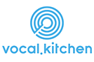 Vocal kitchen logo website