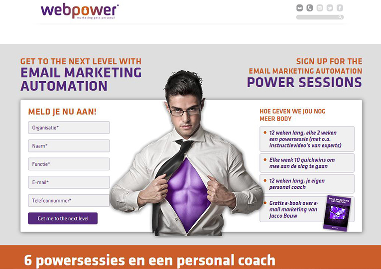 Webpower portfoliocase pr en content marketing bureau Counter Content
