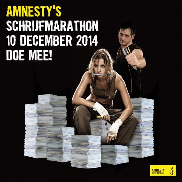 Schrijven voor Amnesty - Counter Content